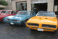 Photo of restored GTOs